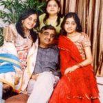 Ashni Biyani With Her Parents and Sister Avni