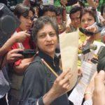 Asma Jahangir Protesting For Religious Minorities