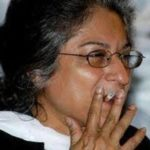 Asma Jahangir Smoking