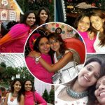 Astha Aggarwal with her mother