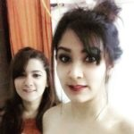 Astha gill with her sister Prerna Gill