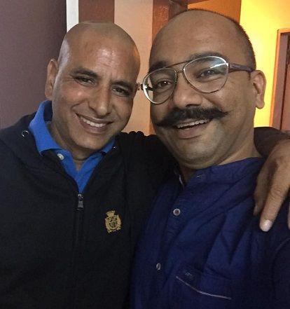 Atul Kapoor with Vijay Vikram Singh