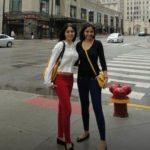 Ayesha Faridi With Her Sister Amena