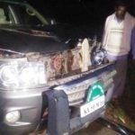 B. S. Yeddyurappa Son's Car Accident