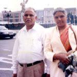 B. S. Yeddyurappa With His Wife