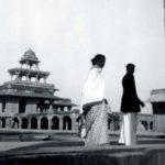 Balkrishna DoshiWith His Wife Kamala