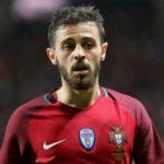Bernardo Silva playing for Portugal