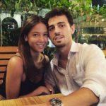 Bernardo Silva with His Girlfriend Alicia Verrando