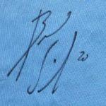 Bernardo Silva's Signature