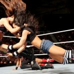 Brie Bella finisher Bella Buster
