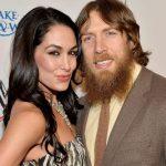 Brie Bella with her husband Daniel Bryan