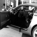 Céline Dion In Her Car Chrysler