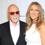 Céline Dion With Her Husband