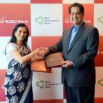Chanda Kochhar With K V Kamath