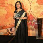 Chanda Kochhar With Woodrow Wilson Award