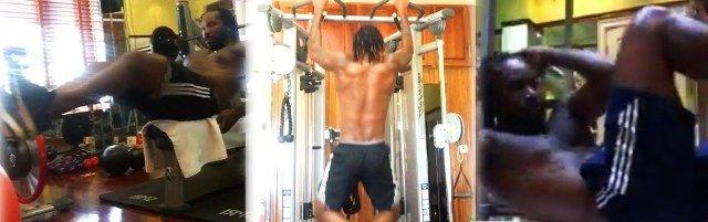Chris Gayle Fitness
