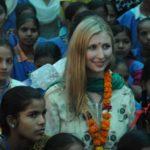 Claudia Ciesla during Karmaveer Puraskaar event