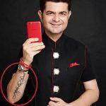 Dabboo Ratnani Tattoo
