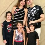 Dabboo Ratnani with his wife & children