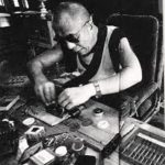 Dalai Lama Repairing watches