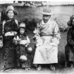 Dalai Lama With His Family