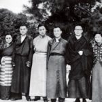 Dalai Lama With His Siblings