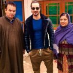Danish Bhat with mother and father