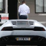 Candice Warner Lamborghini