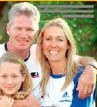 Dean Jones With Wife Jane And Daughter