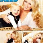 Dean Jones' Girlfriend Kerri Anne Hamilton With Her And Dean's Son Koby