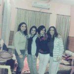 Deepika Singh Rajawat (2nd from Right) With Her Sisters Neelam Raina, Rain Raina, Palvee Raina (from Left to Right)