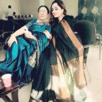 Deepika Singh Rajawat With Her Mother