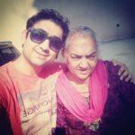 Dheeraj Miglani with his mother