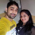 Dheeraj Miglani with his wife