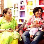 Dhroon Tickoo with his mother Meenakshi Tickoo