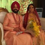 Aamber Dhaliwal with her husband Dilpreet Dhillon