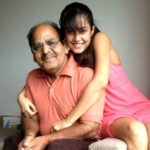 Disha Pandey with her father