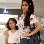 Diya Makhija with daughter