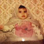 Elnaaz Norouzi Childhood Picture