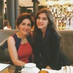 Elnaaz Norouzi with her Mother
