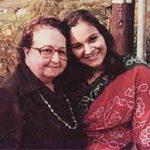 Emilie Schenkl With Madhuri Bose