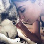 Erin Holland, a dog lover