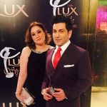 Faakhir Mehmood With His Wife