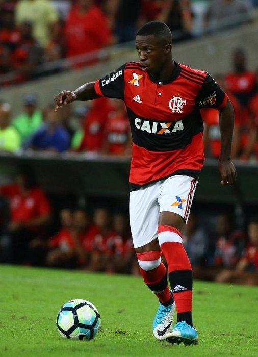 Footballer Vinicius Junior