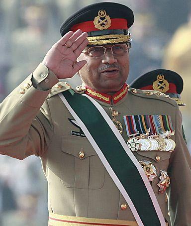 Former Pakistan Army Chief Pervez Musharraf