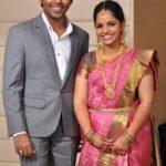 G.V. Prakash Kumar with his wife Saindhavi
