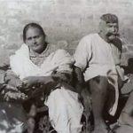 Gama Pehalwan With His Wife Wazeer Begum