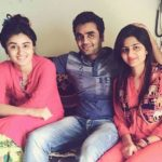 Garima Parihar with her brother and sister