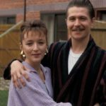 Gary Oldman With His Ex-Wife Lesley Manville