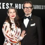 Gary Oldman With His Wife Gisèle Schmidt